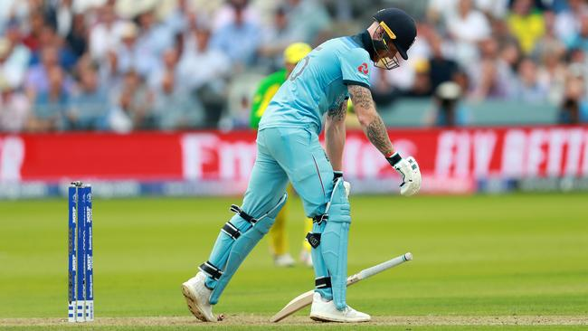 Ben Stokes and his Poms are suddenly long odds to win the World Cup. Picture: David Rogers/Getty Images