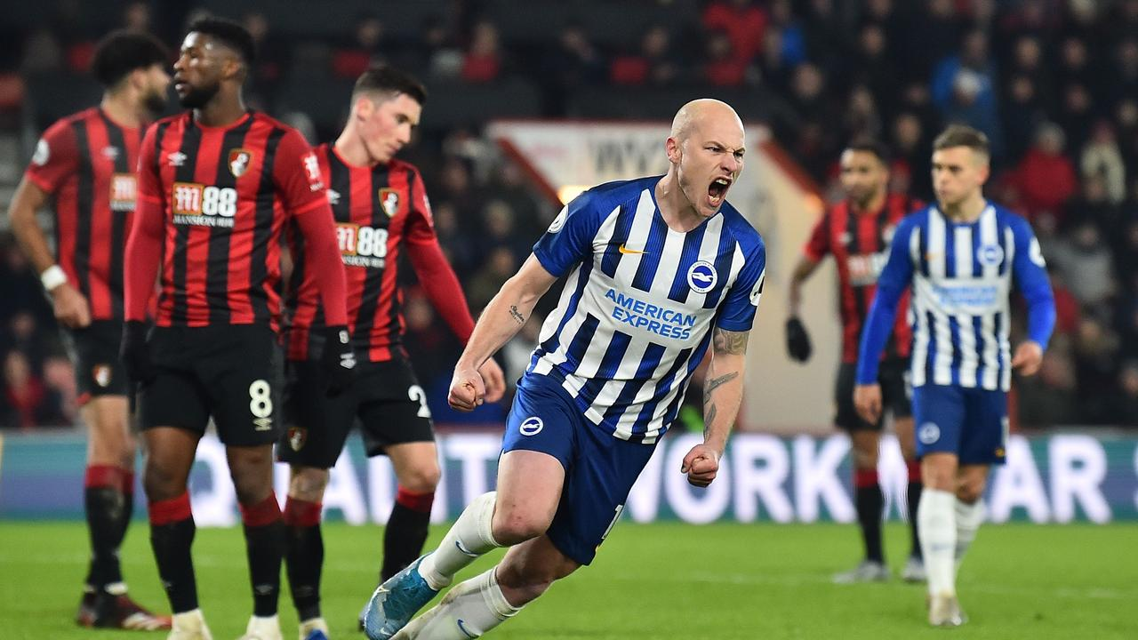 Aaron Mooy has improved Brighton's passing.