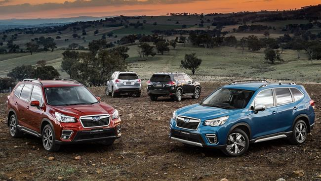 Moving forward: Subaru has improved its mid-size SUV in nearly all directions.