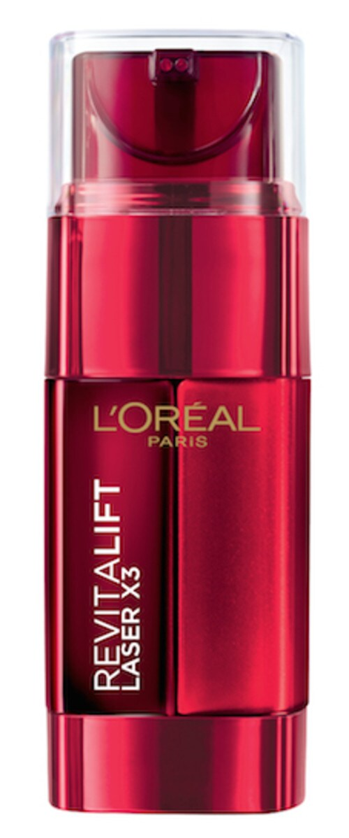 Dupe alert! Aldi's Revive Night Elixir reminds me of L'Oreal's Revitalift Anti-Ageing Power Serum. Picture: Supplied