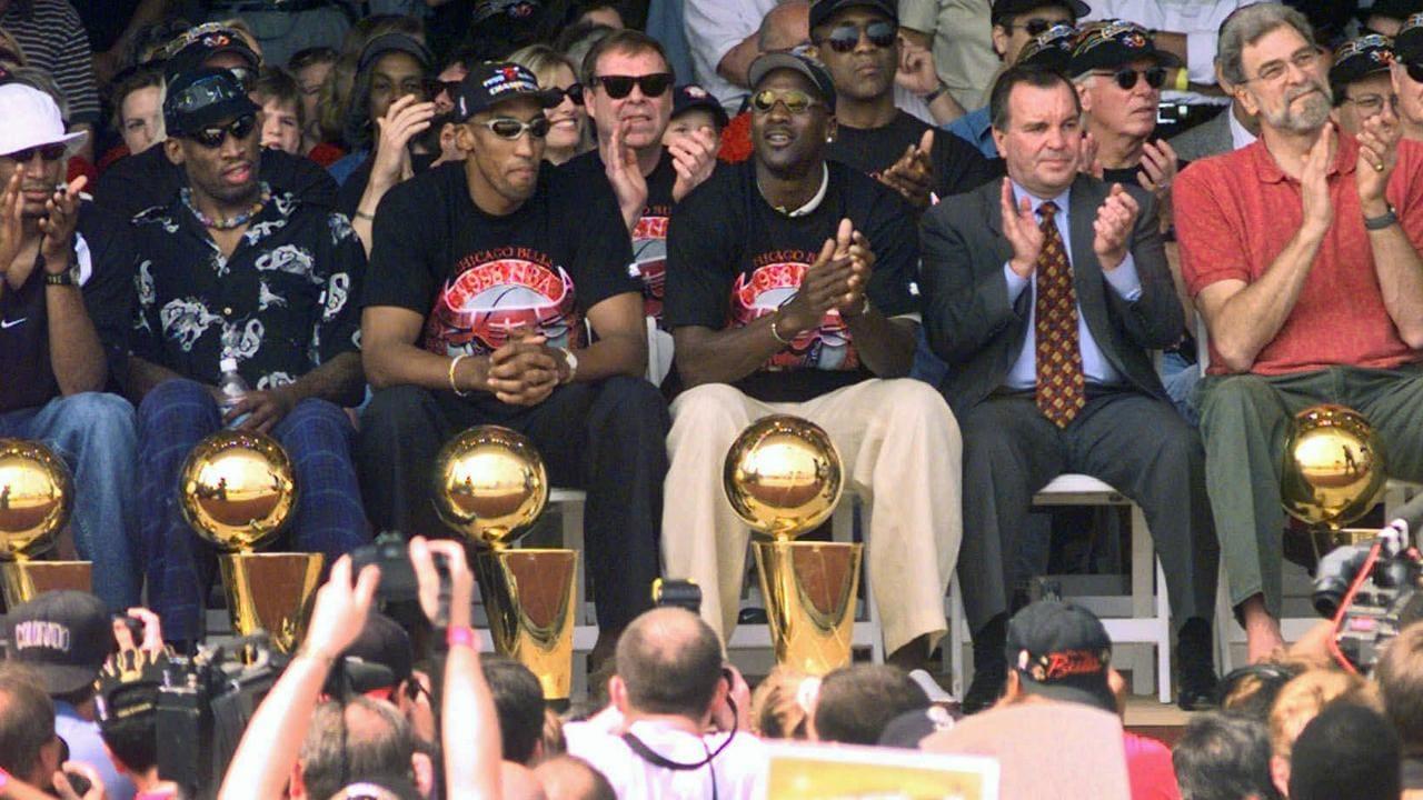 Rodman, Pippen and Jordan were the Bulls' key trio.
