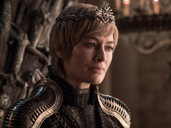 With Cersei Lannister (Lena Headey) finally get to sit on the throne? Game Of Thrones' final season is set to be the most-watched in TV history. Picture: Helen Sloan/HBO