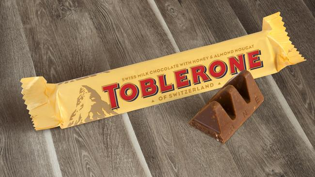 A bar of Toblerone has been used to ignite the latest ridiculous body obsession on Instagram.