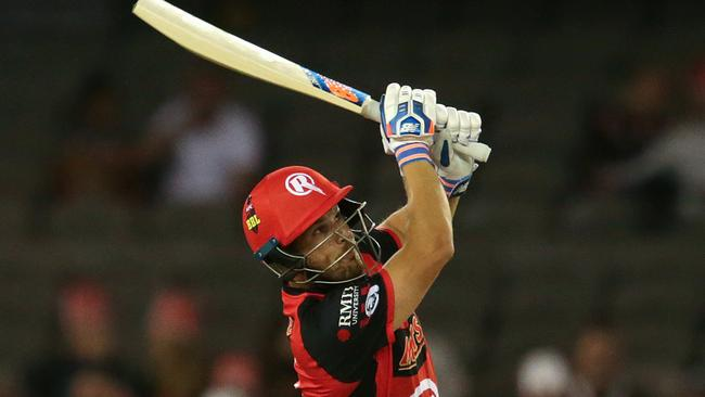 Melbourne Renegades captain Aaron Finch is one of only a few players to score 200+ points in one game.