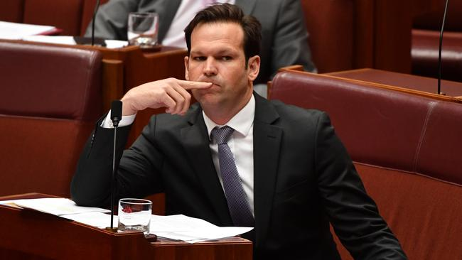 Many have criticised the timing of Mr Canavan's announcement. Picture: AAP Image/Mick Tsikas