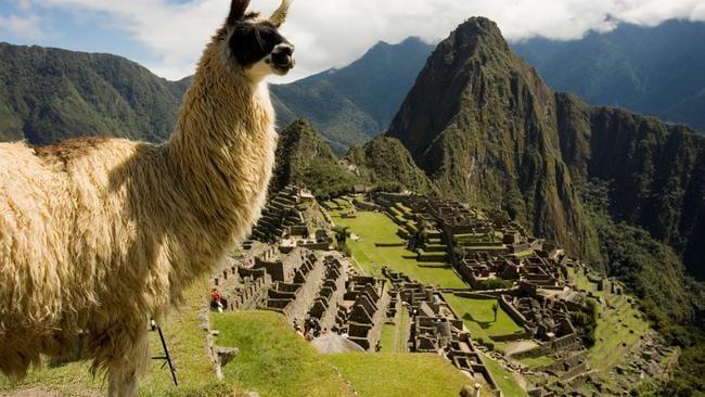 Machu Picchu in Peru is the world's top landmark according to TripAdvisor. Picture: Supplied
