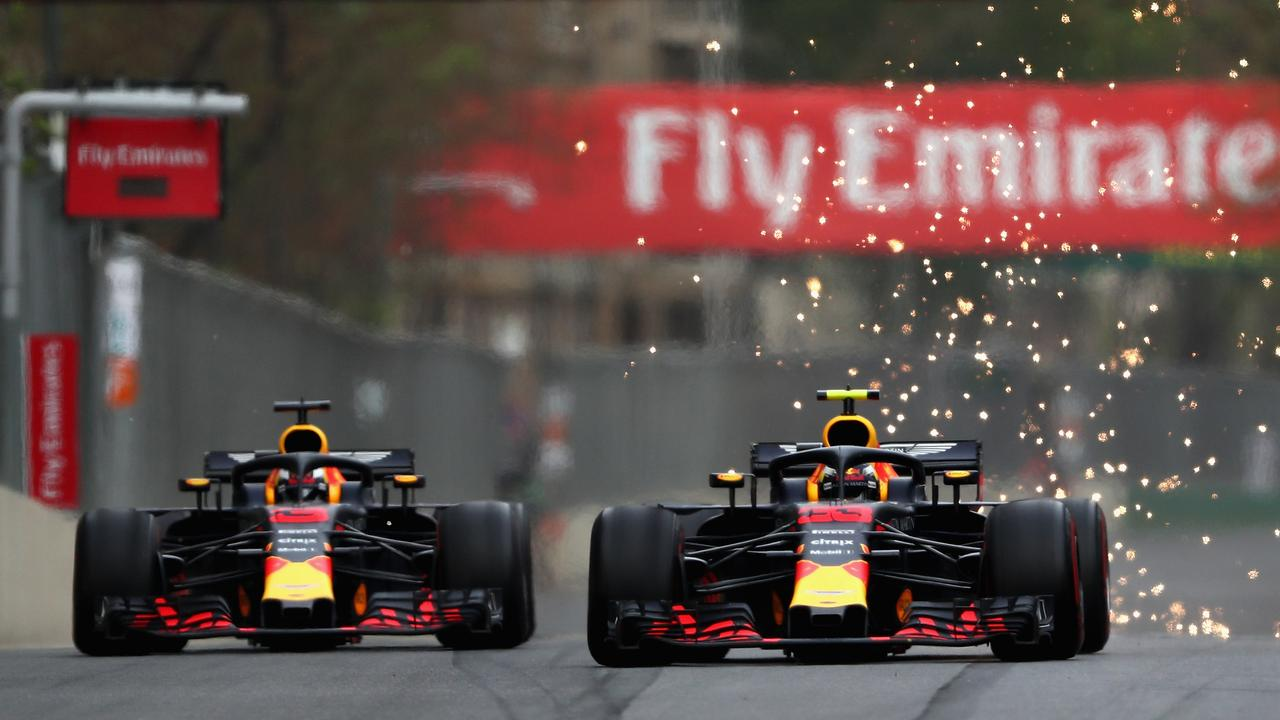 Baku has provided the lows of 2018's collision with teammate Max Verstappen...
