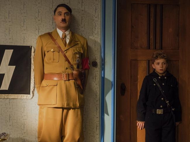 Taika Waititi was nominated for adapted screenplay for Jojo Rabbit. Picture: AP