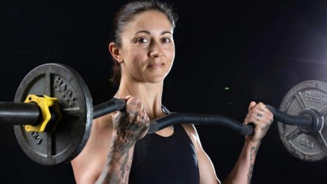 Invictus Games athlete Sarah Sliwka. Image: AAP Image/Renae Droop