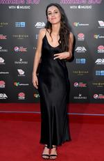 Amy Shark arrives on the red carpet for the 31st Annual ARIA Awards 2017 at The Star on November 28, 2017 in Sydney, Australia. Picture: AAP