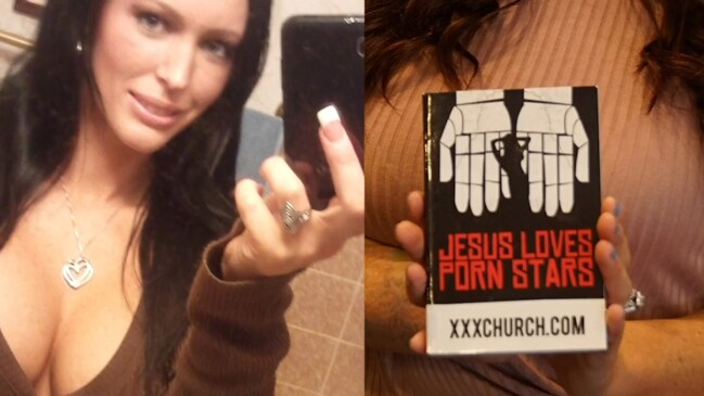 Porn star becomes evangelical preacher