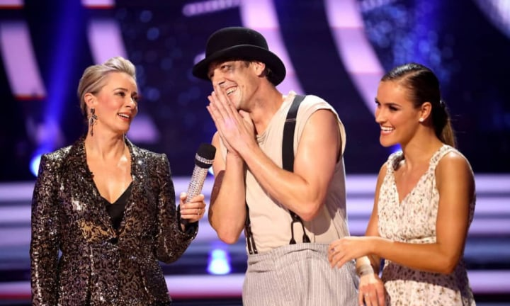 Samuel Johnson is in the DWTS final three but does not want your votes
