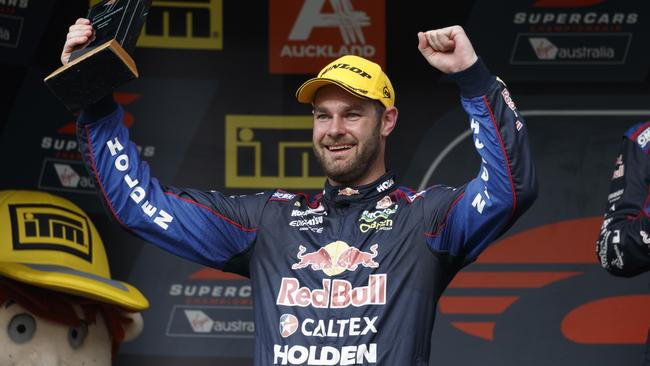 Shane Van Gisbergen is poised to become just the third Kiwi driver to win an Australian Touring car title.