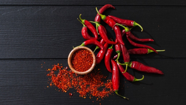 Chili can help boost metabolism. Image: iStock.