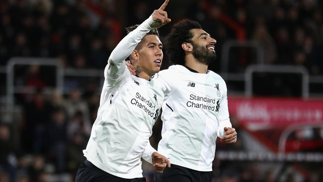 Liverpool pair Roberto Firmino and Mohamed Salah feature in a star studded North XI