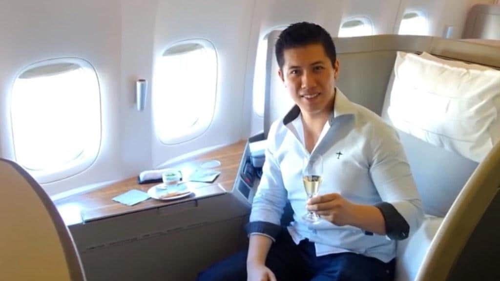 Man Travels First Class for Little More Than $100