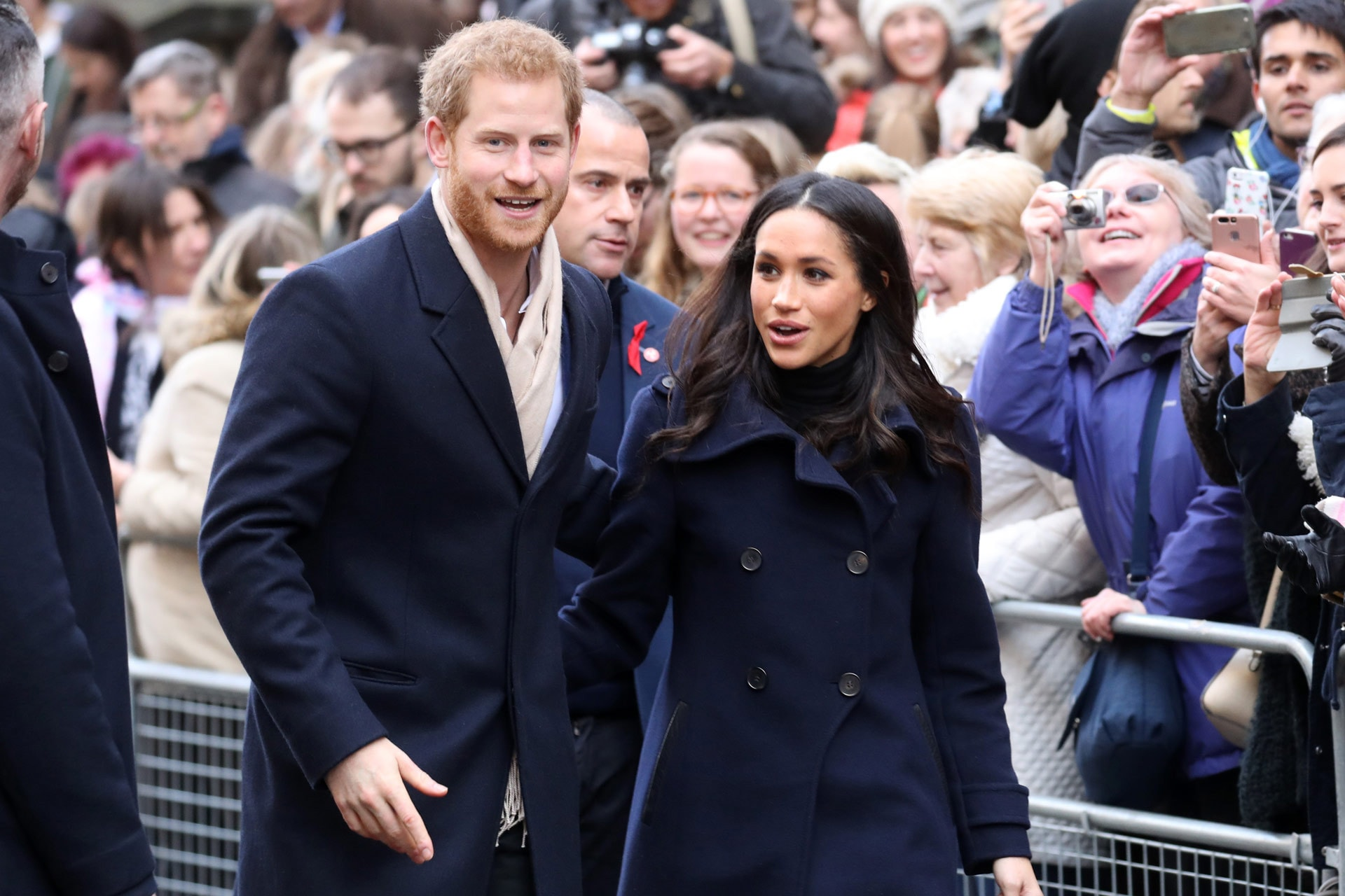 Prince Harry and Meghan Markle reveal royal wedding photographer