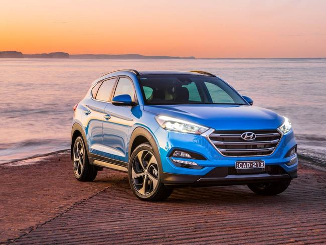 Engineering work ... Hyundai says its Tucson is safe, but they would like it to achieve the maxium 5 star safety rating.