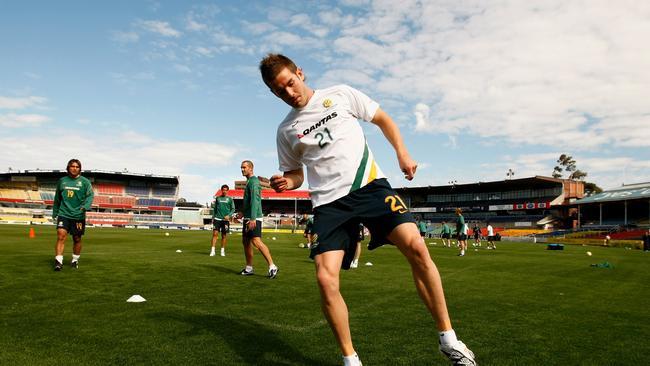 Dean Heffernan of the Socceroos.
