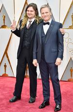 Henry Mortensen and Viggo Mortensen attend the 89th Annual Academy Awards on February 26, 2017 in Hollywood, California. Picture: Getty