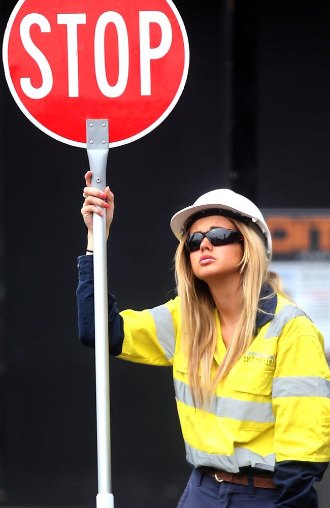 There can be a perception that traffic controllers are just 'standing around'. Picture: Diimex