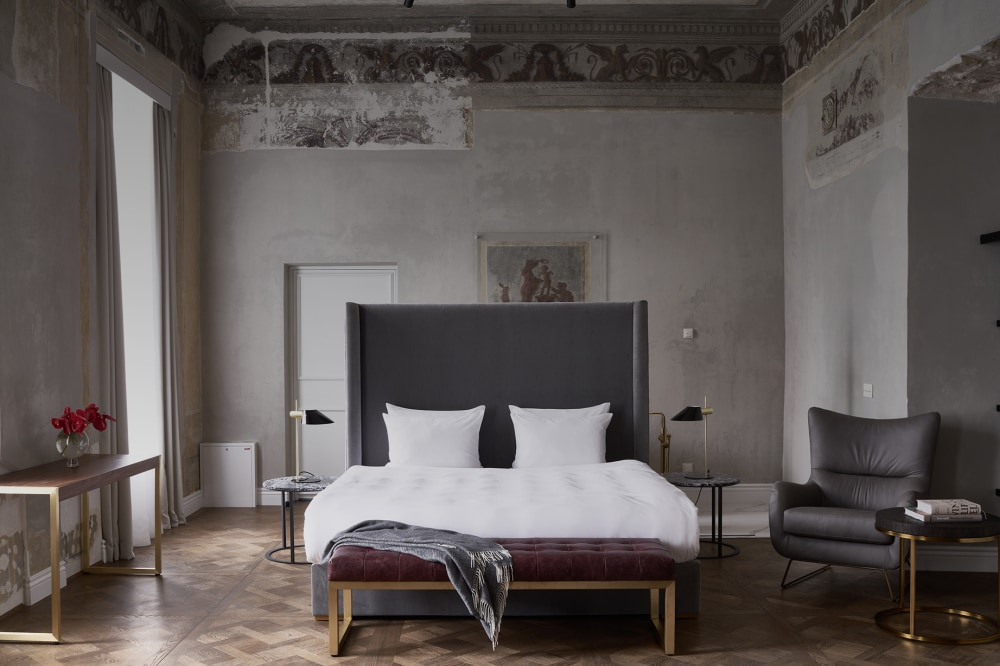 Tour the Lithuanian hotel that was once a private palace