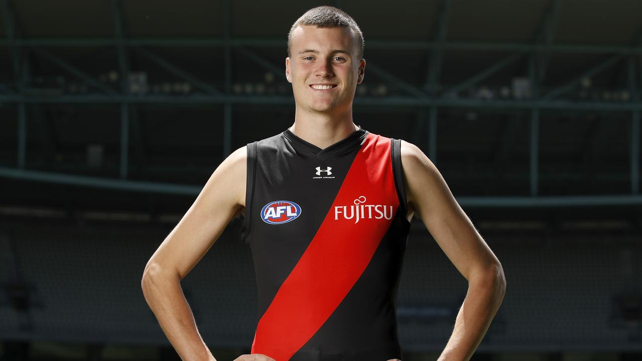 Could Nik Cox surge into the Bombers' best 22? Picture: Dylan Burns