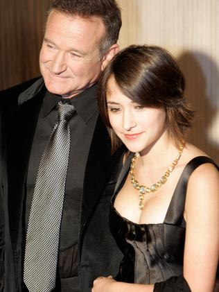 Robin Williams and his daughter Zelda Rae in 2006.