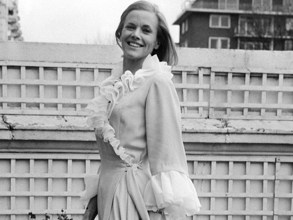 Honor Blackman in 1969. Picture: AP