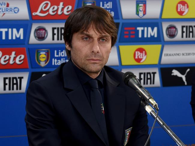 Antonio Conte's brutal demeanour is well known in Italy.