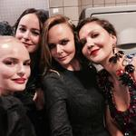 "Kate Bosworth, Dakota Johnson, Stella McCartney and Maggie Gyllenhaal ... ""All goes down in the toilets."" Picture: @stellamccartney/Instagram"