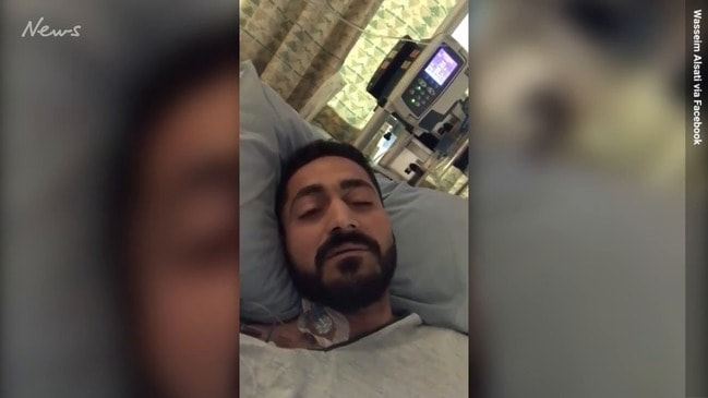 Christchurch shooting victim posts video from hospital bed