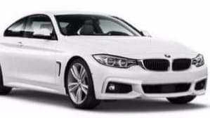 A BMW similar to the one used in the Epping shooting of Mongols bikie Shane Bowden.