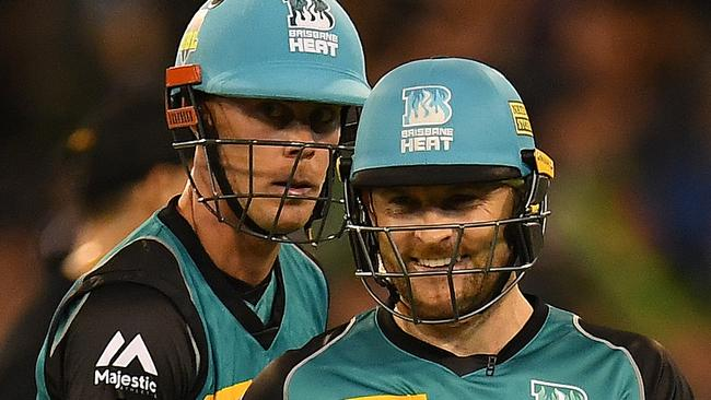 Chris Lynn and Brendon McCullum will join forces in the Pakistan Super League and Caribbean Premier Laegue this year. Picture: AAP
