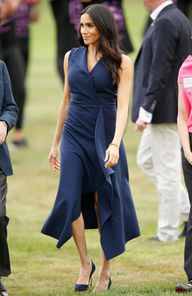 In Australian label Dion Lee during the royal tour in Melbourne last year. Picture: Darrian Traynor/Getty Images