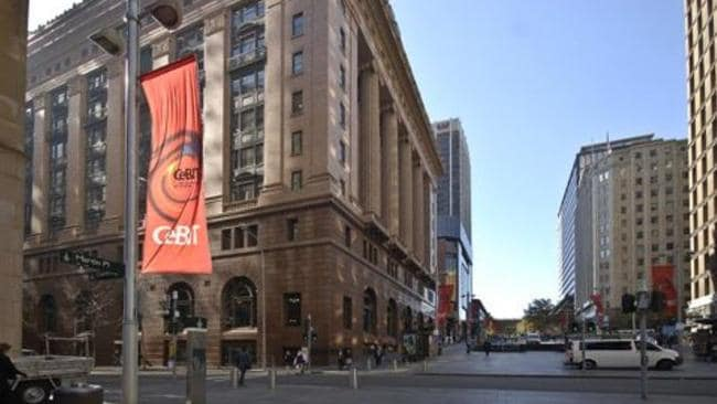 Smartpoles in the City of Sydney which were at the centre of legal proceedings between City of Sydney and Moses Obeid. Pic: Supplied