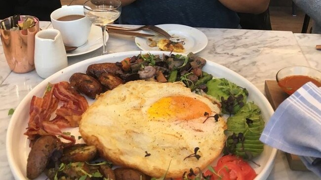 Now THAT'S what we call breakfast. Picture: TripAdvisor traveller