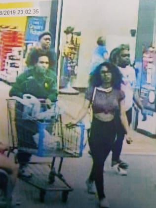 Police released vision of a woman they believe is the ice cream tamperer, captured on Walmart CCTV. Picture: Lufkin Police and Fire