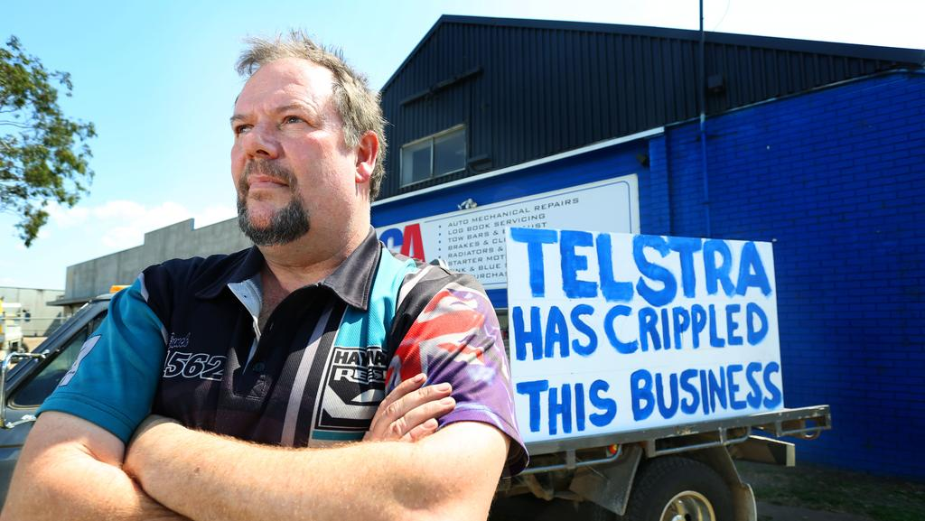 Telstra apologise to Campbelltown business owner after NBN