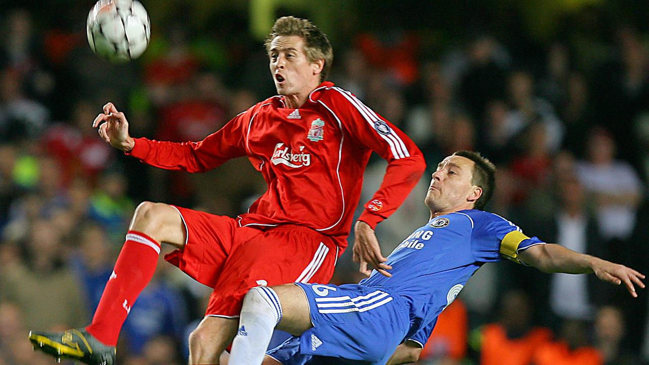 Ex-England and Liverpool striker Crouch believes Terry used crafty pre-match tactics to get on the good side of refs