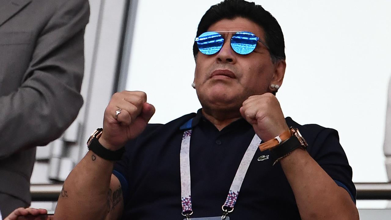 Diego Maradona is the new coach of Mexican side Dorados.