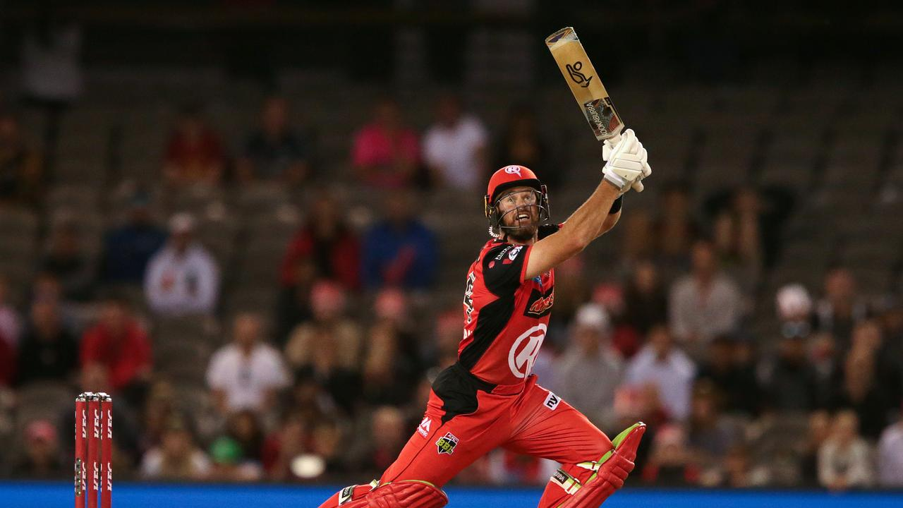 Dan Christian was the hero for the Renegades. Photo: George Salpigtidis/Getty Images.