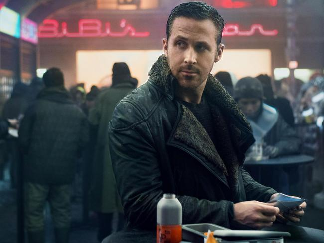 Ryan Gosling in a scene from 'Blade Runner 2049'. Picture: Facebook