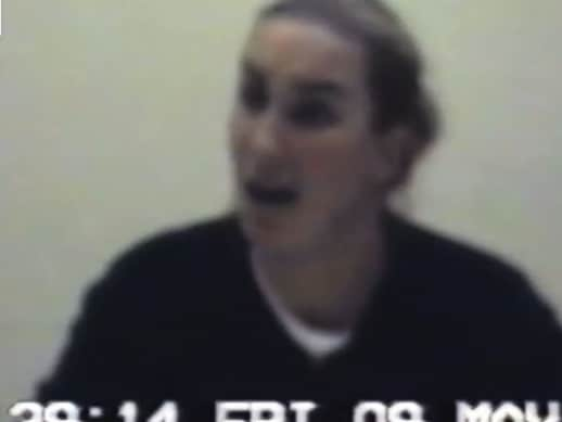 Keli Lane protests her innocence during 2003 police interview. Picture: ABC