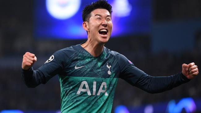 Heung-Min Son scored twice early for Spurs.