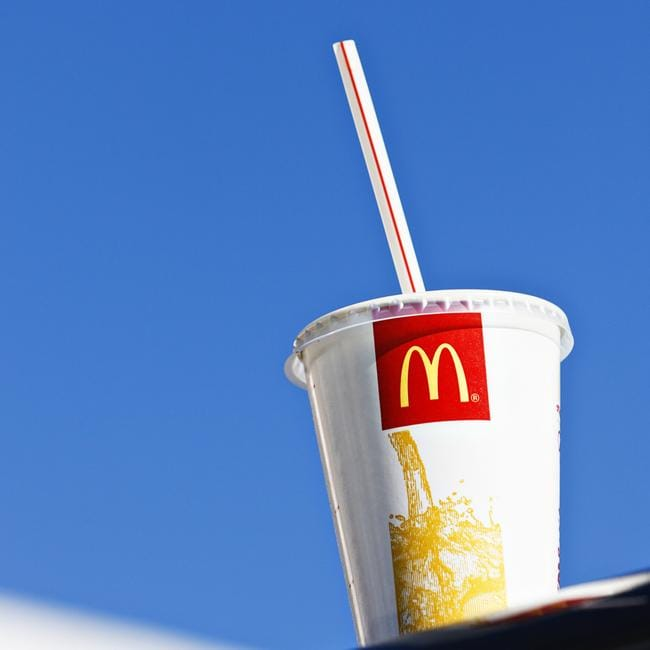 A man has claimed he was served iced tea from McDonald's filled with suspected marijuana.
