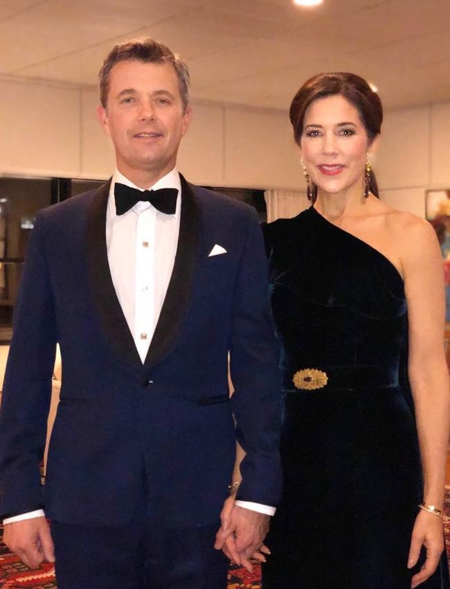 The Instagram snap of Crown Princess Mary and Prince Frederik.