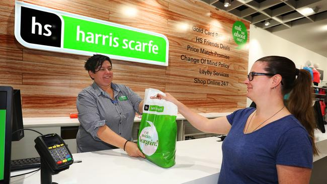 Greenlit Brands will focus on Harris Scarfe and other brands such as Best&Less. Picture: AAP Image / Angelo Velardo.