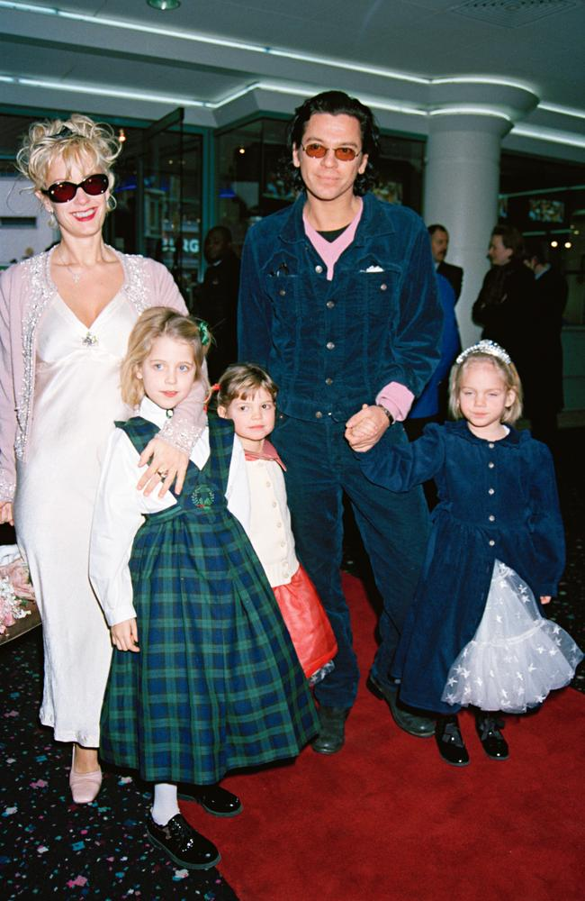 Hutchence thought of Yates's daughters as his own.