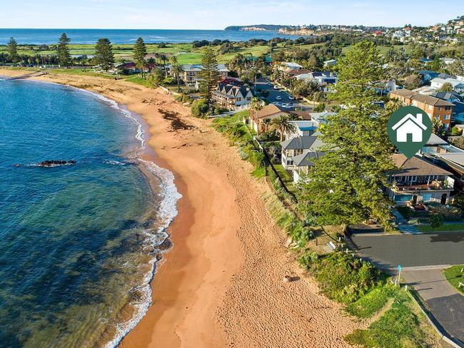 The Johns have bought near Fishermans Beach in Collaroy.